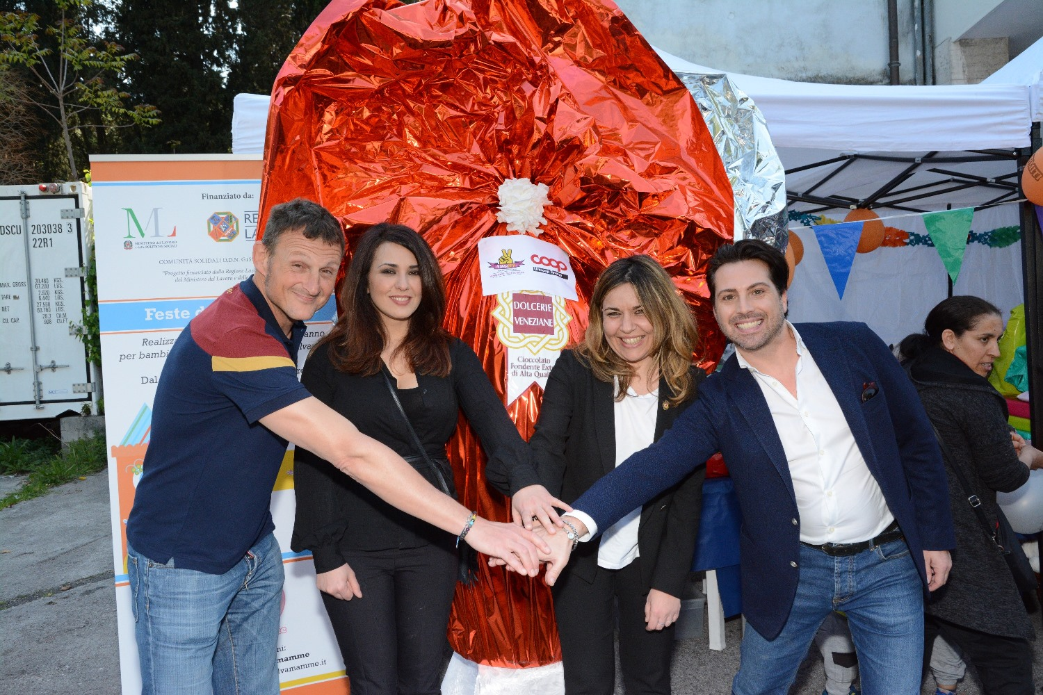 Vip al Family Support Center di Croce Rossa Roma